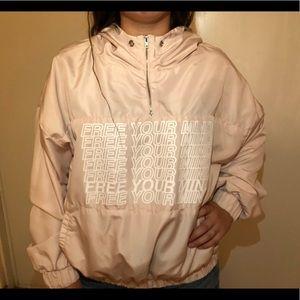 F21 Active Windreaker hoodie